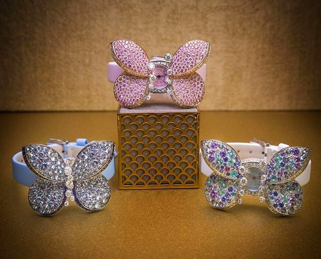 Graff Diamonds Princess Butterfly watch 2016---
