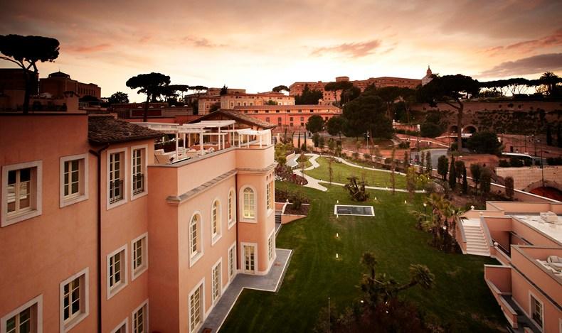 Gran Melia Rome Villa Agrippina exterior