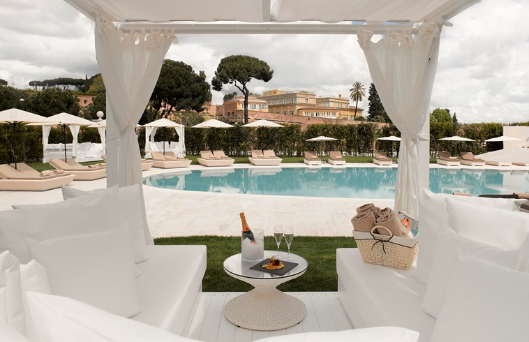 Gran Melia Rome Villa Agrippina - the pool