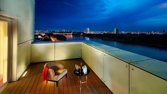 Grand Hotel River Park, a Luxury Collection Hotel, Bratislava - terrace