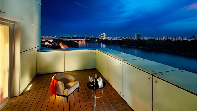 Grand Hotel River Park, a Luxury Collection Hotel, Bratislava - terrace