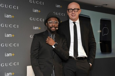 Luxury phone-free smartband: Gucci x will.i.am