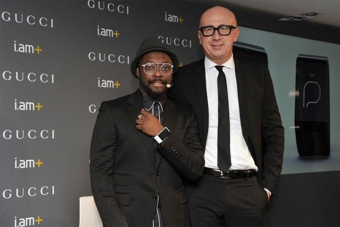 Luxury phone-free smartband: Gucci x will.i.am