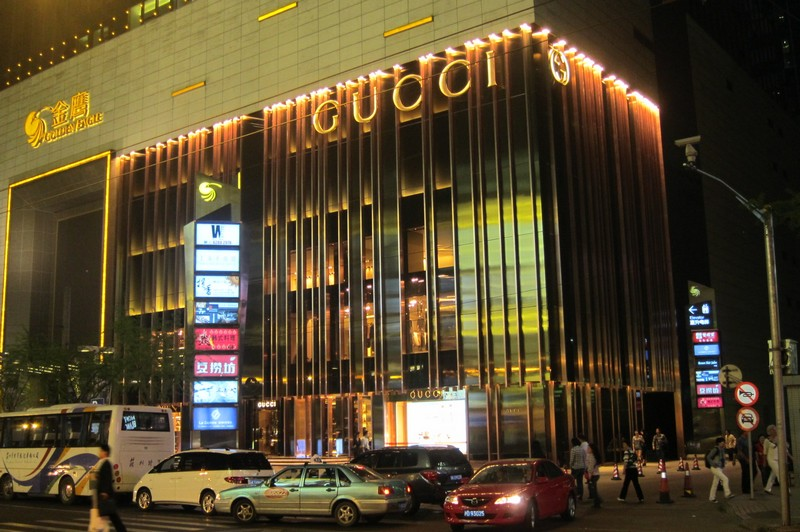 Gucci store Shanghai
