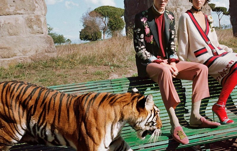 Gucci unveils spring-summer 2017 campaign