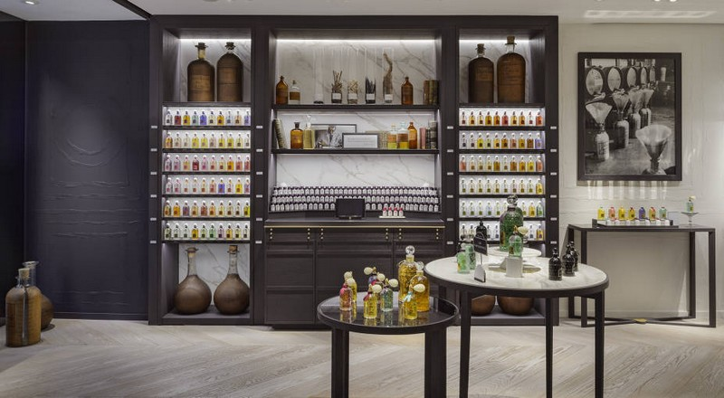 Guerlain new concept dedicated to the art of perfumery-