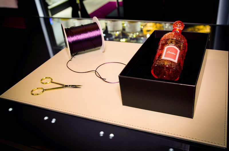 Guerlain new concept dedicated to the art of perfumery---