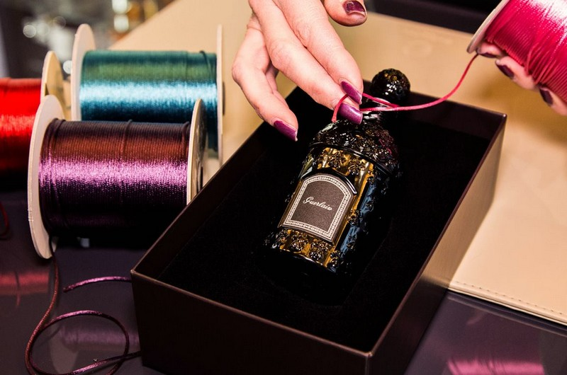 Guerlain new concept dedicated to the art of perfumery-the art of personalisation-