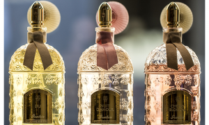 Guerlain perfumes Nuit d'Amour, Liu and Cherry Blossom