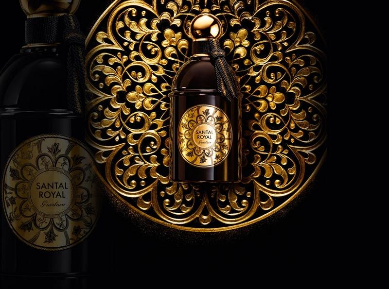 GuerlainSantal Royal perfume bottle