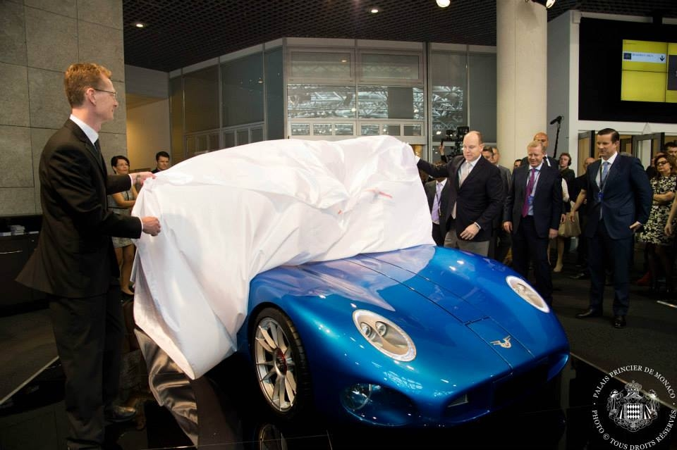 H.S.H Prince Albert II of Monaco launched The Toroidion 1MW Concept car-