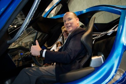 World debut of The Toroidion 1MW, the electric megacar from Finland