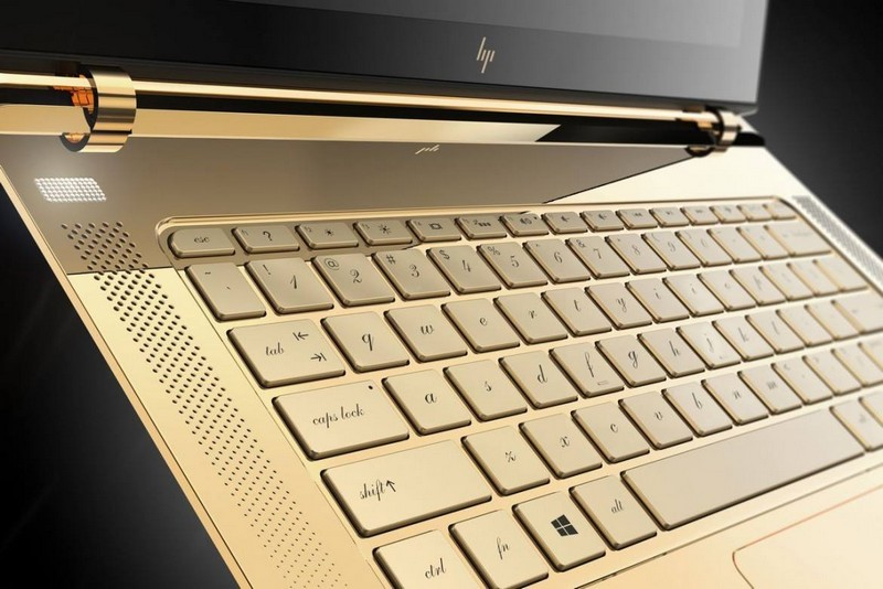 HP upscale Spectre 13.3 laptop - limited edition