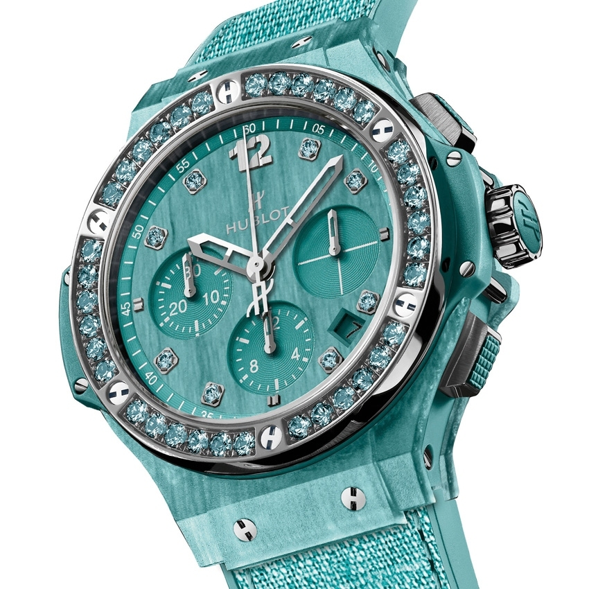 HUBLOT Big Bang Tutti Frutti Linen watch