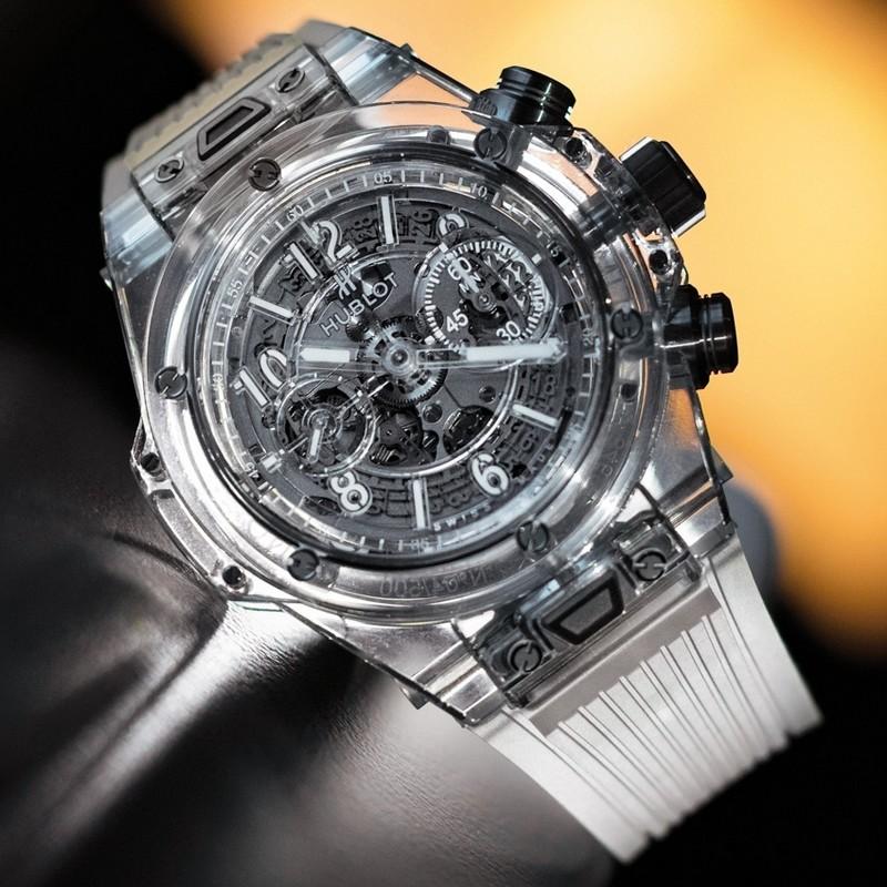 HUBLOT Big Bang Unico Sapphire watch