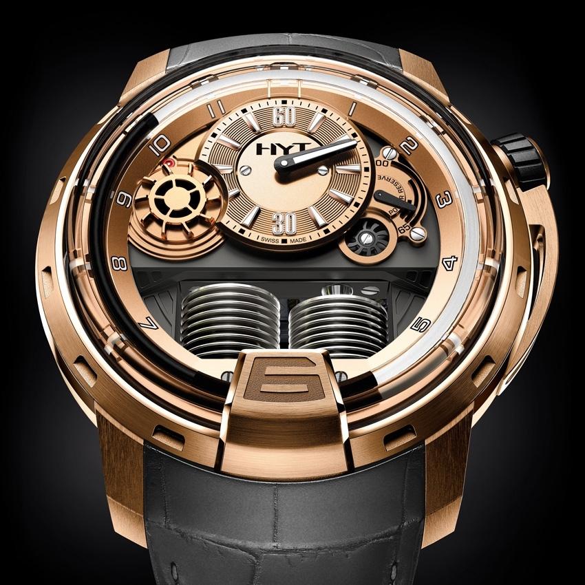 HYT H1 Full Gold watch-
