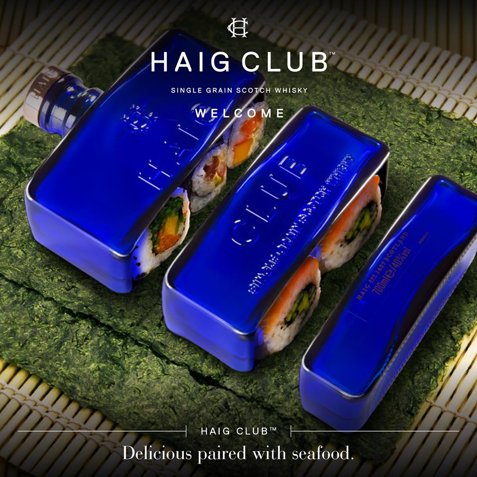 Haig Club – Delicious paired with seafood2LUXURY2.COM