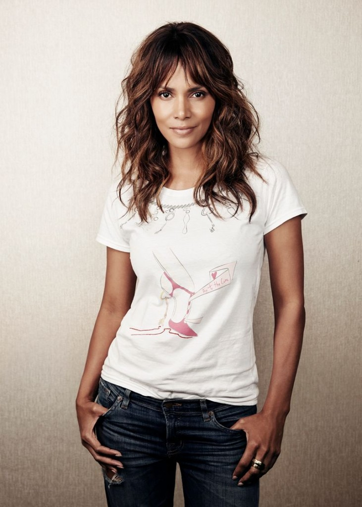 Halle Berry and Christian Louboutin for 2016 Key To The Cure campaign