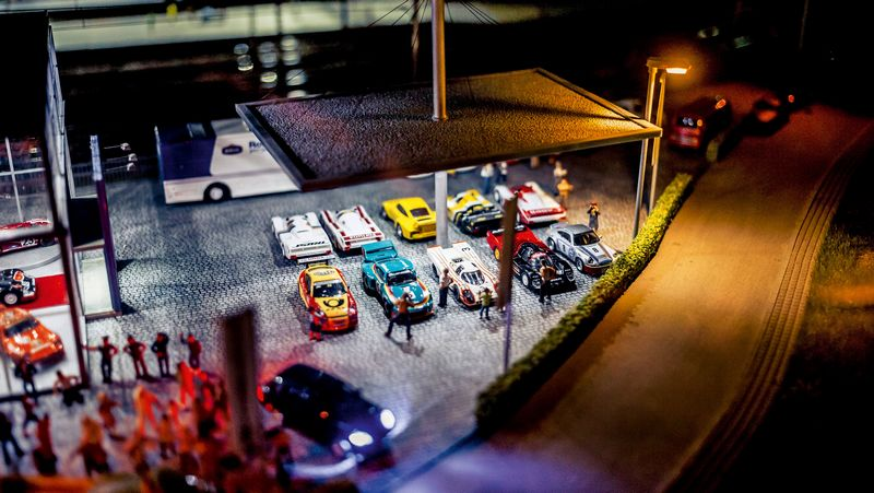 Hans-Peter Porsche TraumWerk - A dream factory-tin toys and miniature cars, ships, vehicles