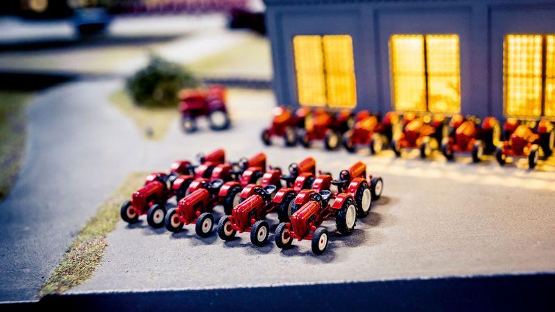 Hans-Peter Porsche TraumWerk - A dream factory-tractors_in_miniature