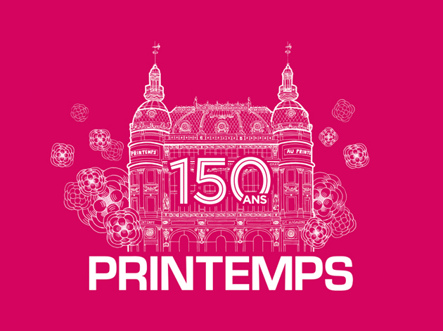 Happy Printemps Paris 150 years--