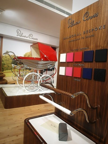 Harrods presents Balmoral Bespoke, the newest pram from Silver Cross-