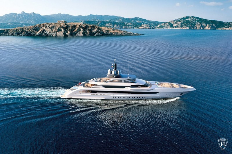 Heesen Yachts from above