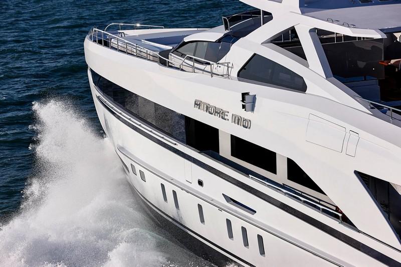 Heesen yachts Amore Mio superyacht 2016