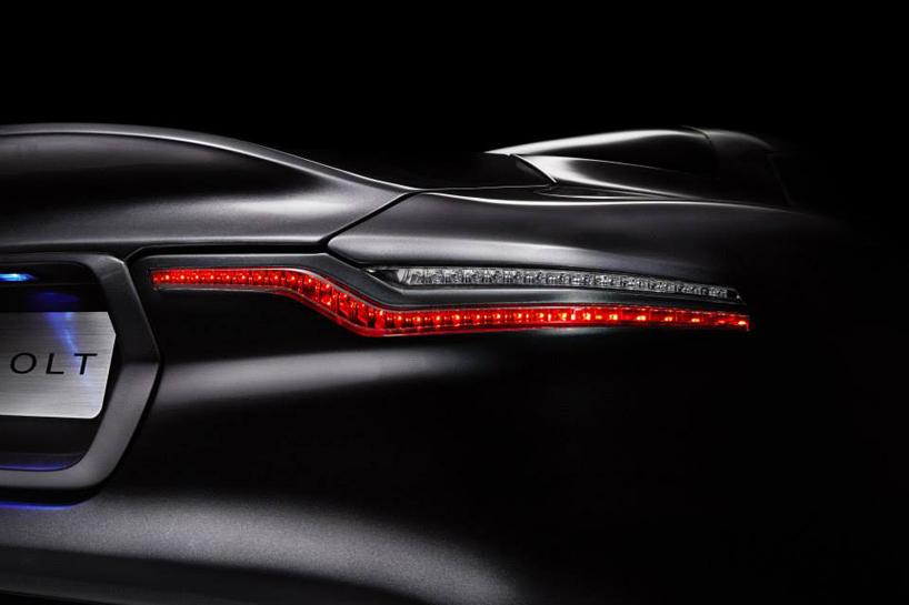 Henrik Fisker's Aston Martin Vanquish-based Thunderbolt concept @ 2015 Amelia Island -