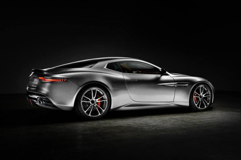 Henrik Fisker's Aston Martin Vanquish-based Thunderbolt concept @ 2015 Amelia Island