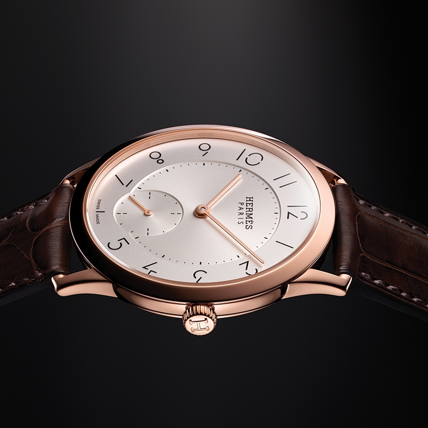 Hermes 2015 Watches - Slim d'Hermès timepiece - the essence of pure form -
