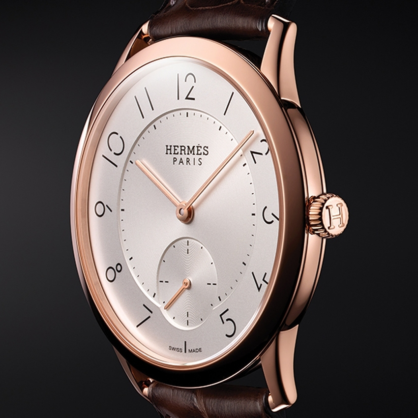 Hermes 2015 Watches - Slim d'Hermès timepiece - the essence of pure form