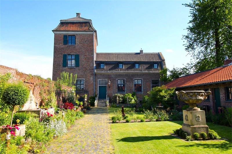 Historic Castle in North Rhine Westphalia, Germany