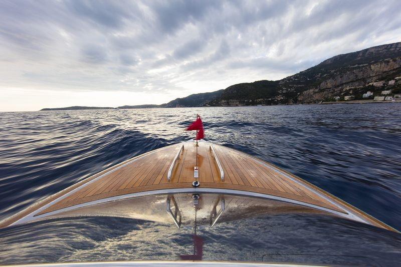 Hodgdon yachts 10.5 meter custom limo tender-