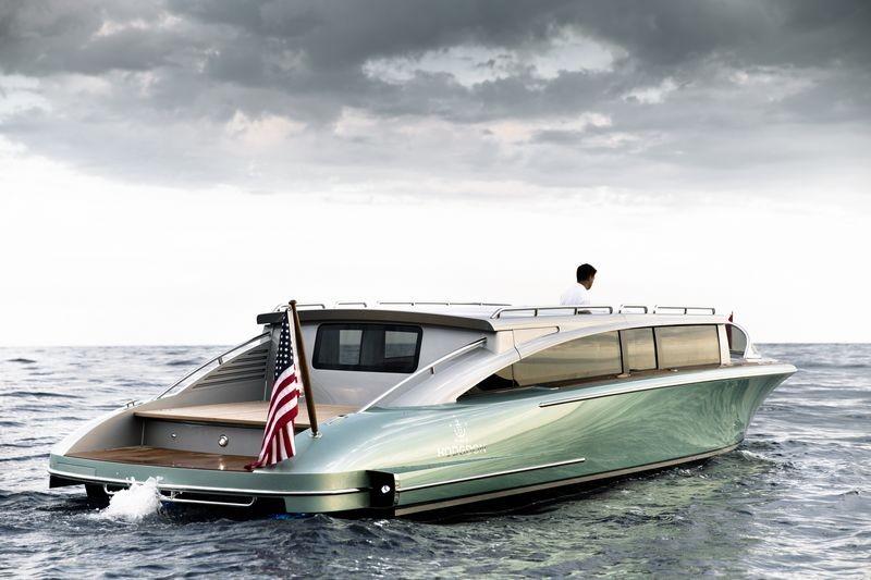Hodgdon yachts 10.5 meter custom limo tender-002