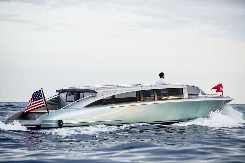 Hodgdon yachts 10.5 meter custom limo tender2016