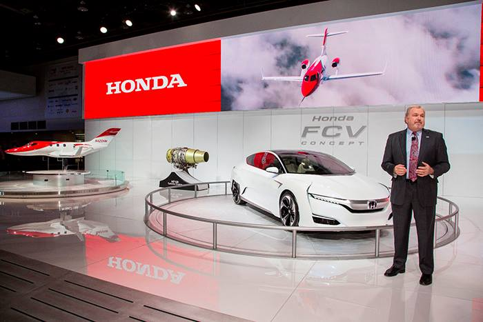 Honda's vision for the future of personal mobility 2015