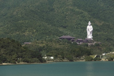 Hong Kong opens £193m luxury Buddhist monastery to public