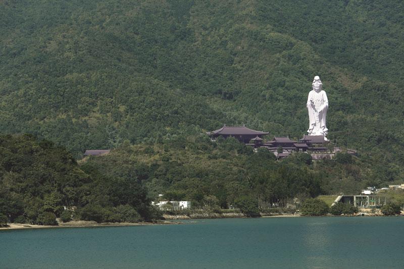 Hong Kong  Tsz Shan monastery