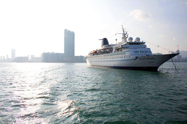 Hong Kong afloat photo
