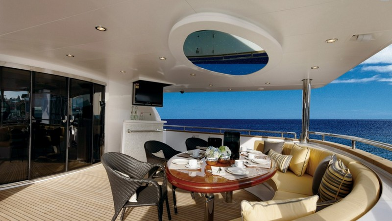 Horizon P110 yacht-