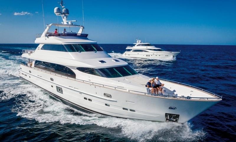 Horizon P110 yacht