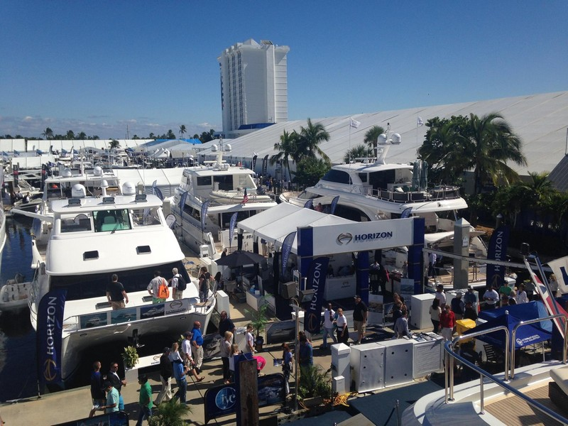 Horizon Yachts - FLIBS 2015