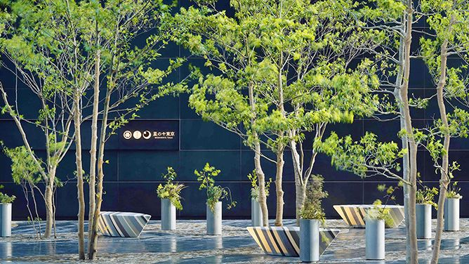 Hoshino Resorts Opens the Capital's First Luxury Ryokan, HOSHINOYA Tokyo-landscape design