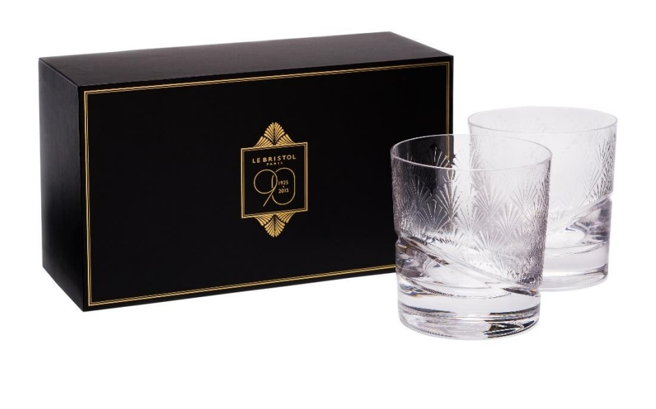 Hotel Le Bristol Paris-90 anniversary in 2015 glasses