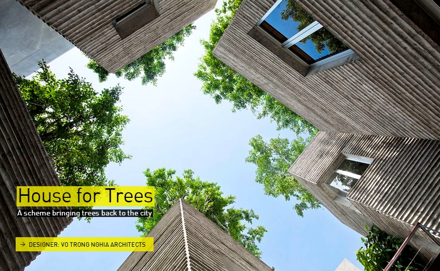 House of Trees- The Designs of the Year 2015 nominees @ Design Museum London