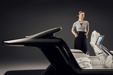 Beijing Auto Show: How the Lounge Console could look in the new Volvo S90 Excellence luxury sedan
