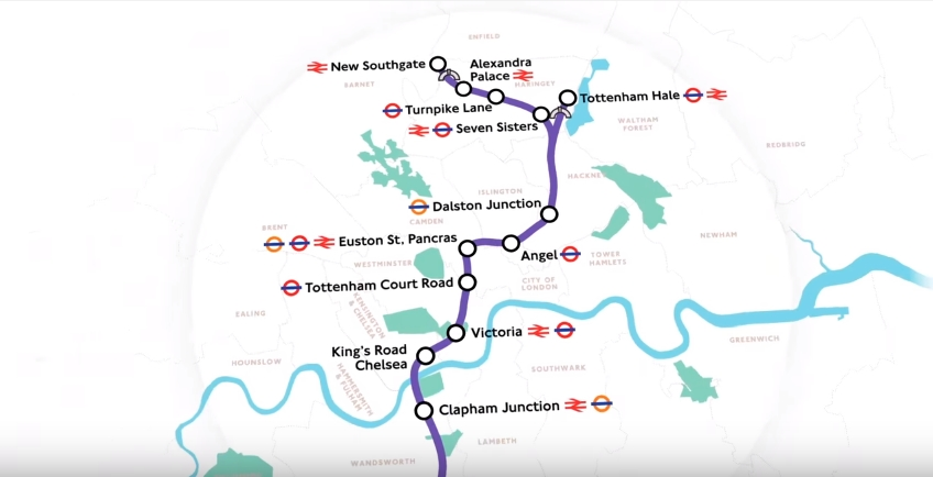 How the New Crossrail Station will Affect London House Prices-CrossRail 2