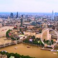 How the New Crossrail Station will Affect London House Prices-London Skyline Panorama