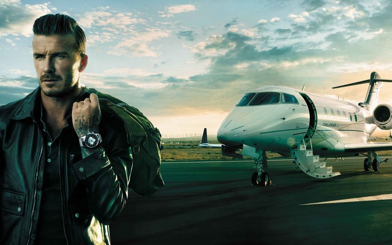 How to travel when you're mega rich and super busy - DavidBeckhamad